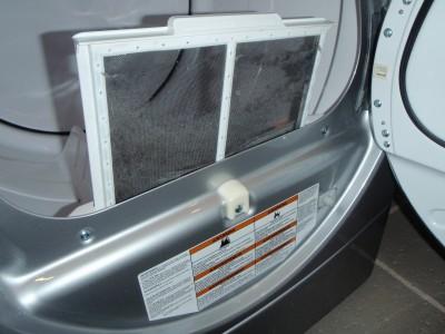Dryer lint trap