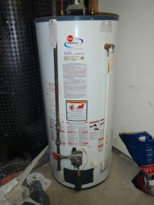 Typical water heater